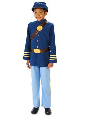 Civil War Soldier Boy Costume