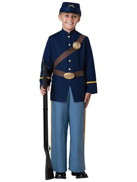 Civil War Soldier Child Costume 6