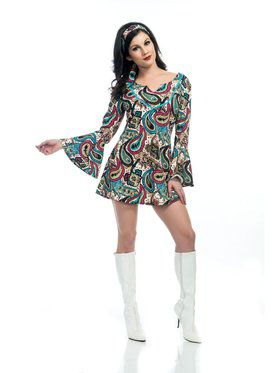 Classic Disco Babe Adult Costume