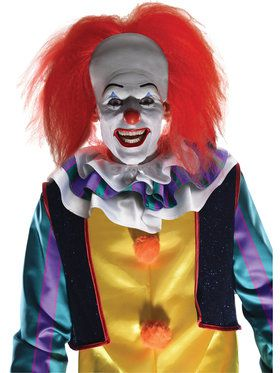 Classic Pennywise Clown Wig for Adults