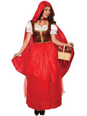 Classic Red Riding Hood - Standard Adult Costume