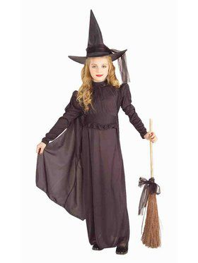 Elegant Witch Classic Child Costume