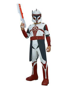Star Wars The Clone Wars Commander Fox Clone Trooper Costume