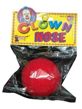 Clown Red Nose Accessory