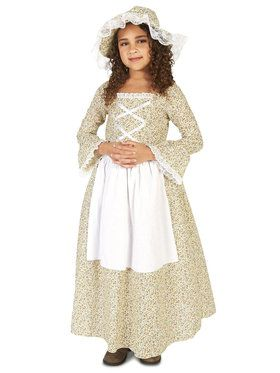 Colony Girl Child Costume