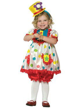 Clown Girl Infant / Toddler Costume
