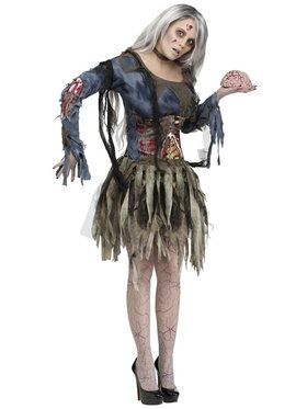 Complete Womens Zombie Costume