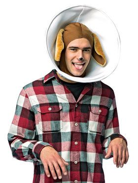 Cone Dog Adult Headpiece