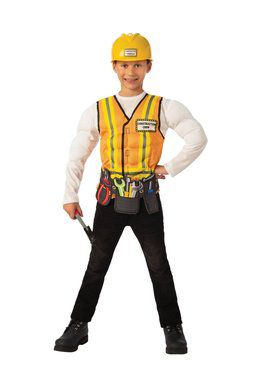 Construction Worker Child Costume