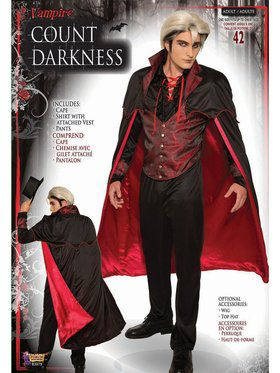 Count Darkness - Adult Costume