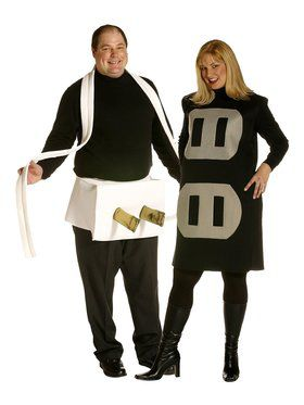 Mens Plus Size Plug And Socket Costume