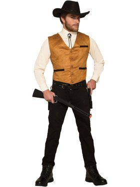 Cowboy Vest - Male Adult Costume