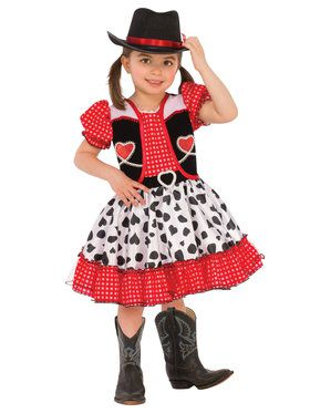 Cowgirl Girl's Costume