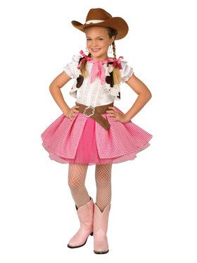 Cowgirl Cutie Child Costume