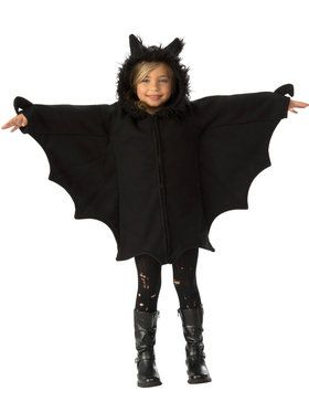 Cozy Black Bat Costume