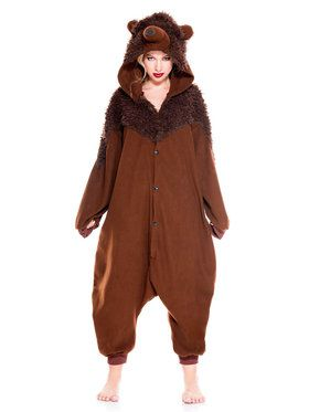 Cozy Bear Kigurumi Costume