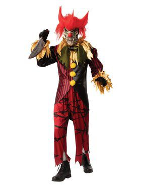 Crazy Clown Adult Costume