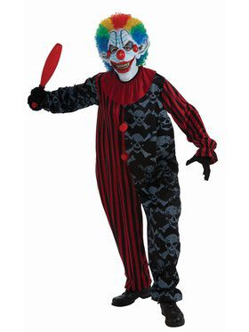 Creepo The Clown Adult Costume