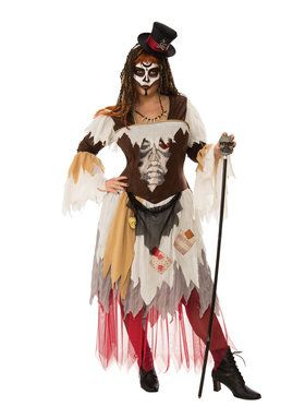 Plus Size Curvy Conjure Woman Costume