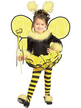 Cute Bumble Bee Toddler Costume