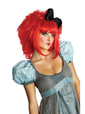 Cutie Doll Wig- Red