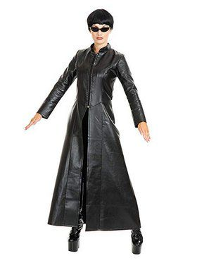 Cypher Enigma Coat Adult Costume