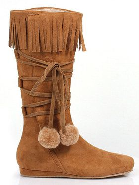 Dakota Fringe Child Boot