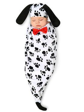 Dalmatian Darling Infant Bunting