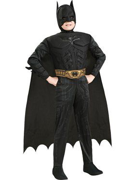 Muscle Chest Dark Knight Batman CostumeDeluxe