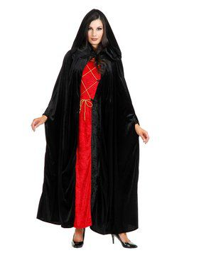 Dark Lair Cloak Adult Black