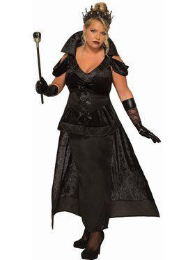 Dark Queen - Plus Adult Costume