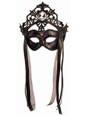 Dark Royalty Masquerade Queen Mask