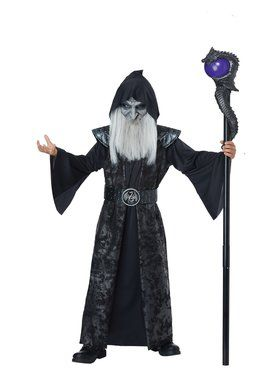 Dark Wizard Child's Costume