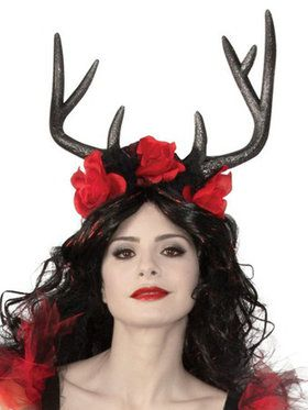 Dark Woodland Beauty Headpiece