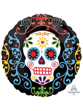 """Day Of The Dead 18"""" Balloon (1)"""