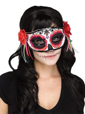 Day of the Dead Adult Mask One-Size