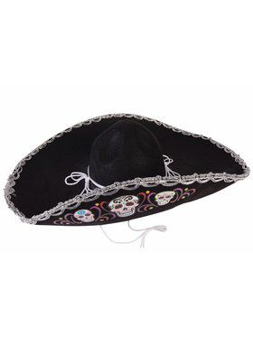 Day Of The Dead - Deluxe Sombrero