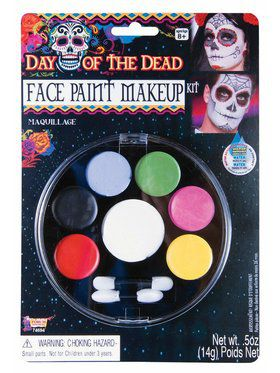 Day Of The Dead - Face Paint Makeup