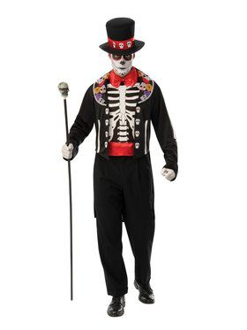 Day of The Dead Man Adult Costume