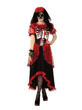 Day of The Dead Woman Adult Costume