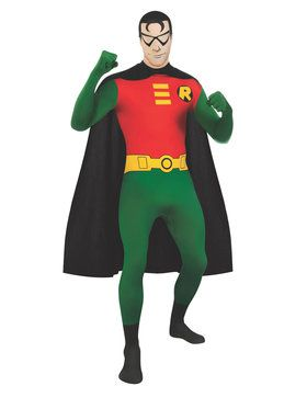 DC Comics Robin Adult 2nd Skin Costume