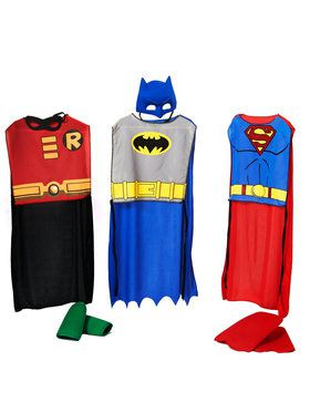 DC Comics Action Trio Kids Costume Kits