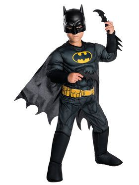 Children's Deluxe DC Comics Batman Costume