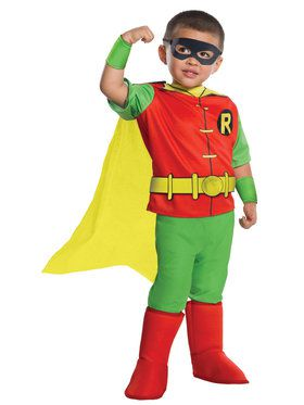 DC Comics - Robin Toddler Deluxe Costume