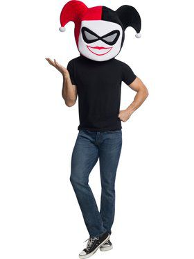 DC Comics Super Villains Harley Quinn Mask