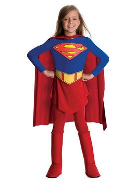 Toddler/Child's DC Comics Supergirl Costume