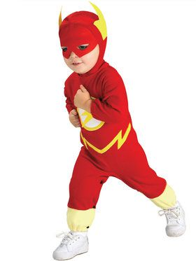 DC Comics The Flash Deluxe Infant Costume