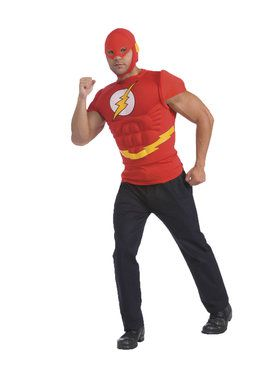 The Flash DC Comics Muscle Chest Costume for Adults