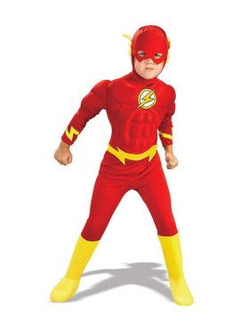 Deluxe Muscle Chest The Flash DC Comics Costume