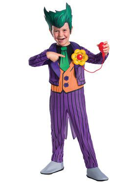 DC Comics - The Joker Child Deluxe Costume